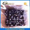 "A235 Carbon Steel 1/2"" Half Thread Nipple with Black Surface"