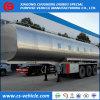 3 Axle 35000L Insulated Milk Transport Tank Trailer