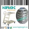 Foldable Warehouse Steel Rolling Ladder Cart (HBE-LT-1)