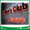 Reverse Lit LED Stainless Steel Channel Letters for Bar Sign