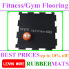 Colorful Fastness Heavy Duty Fitness Center Interlock Rubber Mat