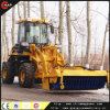 Chinese Wheel Loader Zl16f with Sweeper