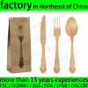 Wooden Disposable Cutlery Kit Pack with Napkin