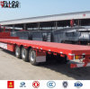 40ton Capacity Flatbed Container Trailer Truck for Sale
