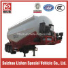 Tri-Axle Carbon Steel Bulk Powder Material Tank Semi Trailer