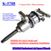 1 Inch Pinless Hammer Structure Air Impact Wrench K-5708