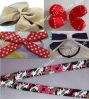 Decorative Bows, Satin Ribbon Bow, Hair Bow, Mini Bow