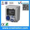 Plastic Power Combination MCB Box with CE