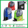 Mesh Top Drawstring Backpack Bag