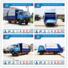 Heavy Duty 4X2 13cbm 14cbm Waste Collector Truck Dongfeng Compressed Garbage Truck