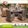 Patio Rattan Furniture Wicker Dining Set (DH-8620)