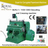 Mjrj-5 Series Die-Cutting and Creasing Machine 1600-1800