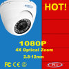 Night Vision 1080P Zoom Poe P2p IP IR Dome Camera