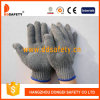 Ddsafety 2017 Ce Quality Stretchy Gloves Grey Cotton/Polyester Gloves