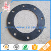 Round FDA Silicone Rubber Flange Gasket for Pipe Sealing