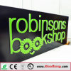 Outdoor Strong Huge Size Advertising Exterior Solid Shop Front Signages