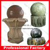 Custom Made Natural Stone Indoor Rolling Ball Water Fountain