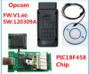 Newest Version V1.60 for Opel OBD2 Opcom with Pic18f458 Chip