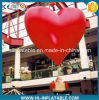 Hot Sale Christmas Mall Decoration Red Inflatable Heart Balloon for Sale