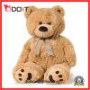 Customized Dark Brown Giant Stuffed Soft Plush Teddy Bear with Bow