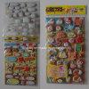Cartoon PVC Puffy Foam Sticker, Frozen Sticker, Sponge Sticker Qrd-112