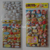 Cartoon PVC Puffy Foam Sticker, Frozen Sticker, Sponge Sticker Qrd-112