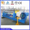 W11-20X2500 3 rollers steel forming plate bending rolling machine
