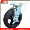 4 -8 Inch Mold-on Rubber Swivel Casters with Side Brake