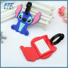 Soft PVC Rubber Silicone Leather Luggage Tag