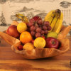 Newest Modern Design Fruit Plate Top Quality Wood Fruit Plate