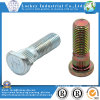 Zinc Plated Special Bolt with Knurl