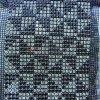 Rectangele Pattern Strass Ornament Roll