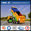 Cimc Huajun Intellectual Control Cover Dump Truck for City Garbage