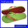 Wholesale Price PE Man Slipper with Two Color Strap