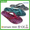 Snake Leather Fashion Sandal for Lady (RW22862)