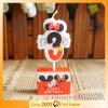 Funny Unique Cartoon Colorful Number Birthday Candle