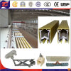 Mobile Power Supply Electric Rail Tracks System
