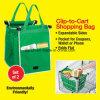 Washable Eco Friendly Reusable Large Capacity Supermarket Shopping Grab Bag