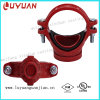 Dutile Iron Casting Pipe Fitting Mechanical Tee with U Bolt