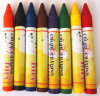 High Quality Non-Toxic Bright Color Wax Crayon China Supplier