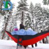 Outdoor Striped Canvas Camping Hammock Hang Bed