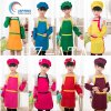 Kids Aprons and Chef Hats, Kids Cooking Apron Set