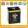 Custom Square Coffee Tin for Metal Food Can Storage Box