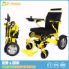 Heavy Duty Aluminum Foldable Electric Wheelchair Power Propelled