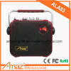 Hot Sale Good Quality Trolley Speaker with Bluetooth and Wireless Mic for Karaoke/Outdoor