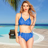 Sexy Ladies Crochet Two-Piece Bikini Swimwear-2