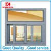 Security with Insulated Glass Aluminum Sliding Window (KDSS085)