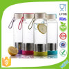 BPA Free Glass Water Bottle with Tea Fliter Fruit Infuser Dn-164b