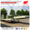 60 Tons Low Bed Semi Trailer with ABS Braking System