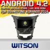 Witson Android 4.2 Car DVD for Ssangyong Korando 2014 with A9 Chipset 1080P 8g ROM WiFi 3G Internet DVR Support